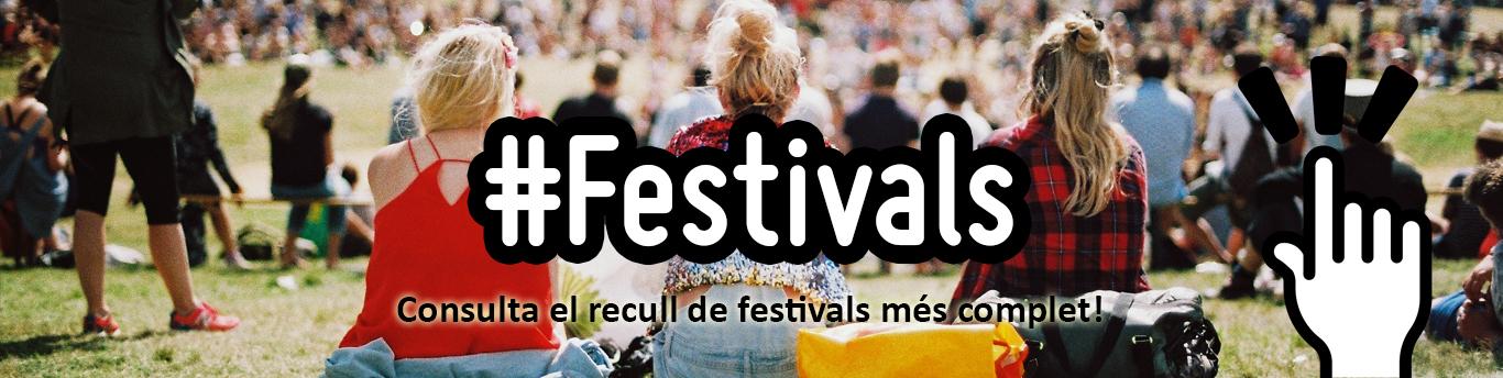 Recull de festivals de Catalunya