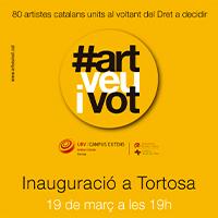 #Artveuivot. Artistes pel dret a decidir
