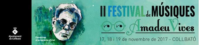 II Festival de Músiques Amadeu Vives