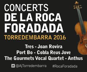 Concerts de la Roca Foradada - Torredembarra 2016