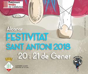 Festivitat Sant Antoni 2018 Alcanar