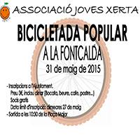Bicicletada popular a la Fontcalda