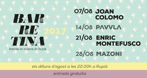 Barretina 2017 - Festival de Música de Rupià