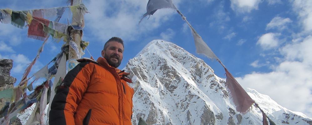 Carles Castelló a l'Himàlaia