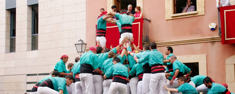 Castellers de Vilafranca al Catllar