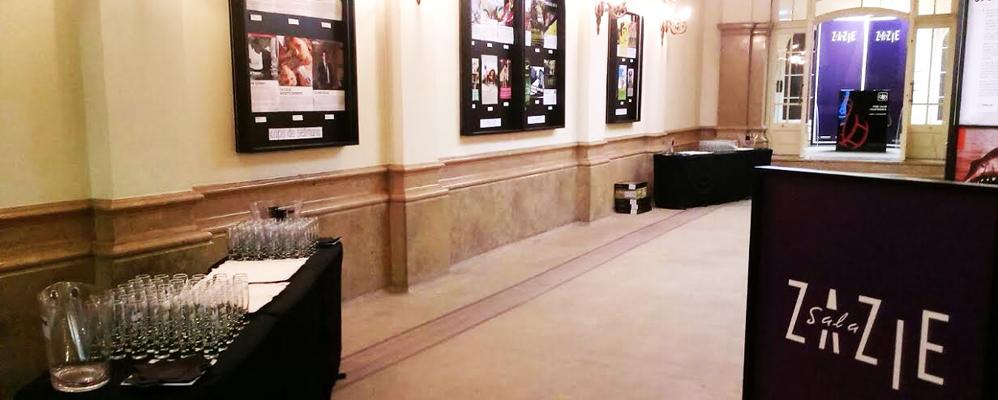 El vestíbul de la Sala Zazie