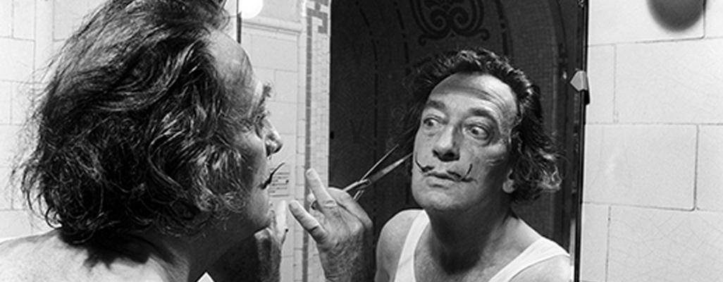 Fotografia d'EFE de l'exposició 'Dalí, breaking news'