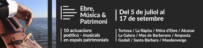 Ebre, Música & Patrimoni