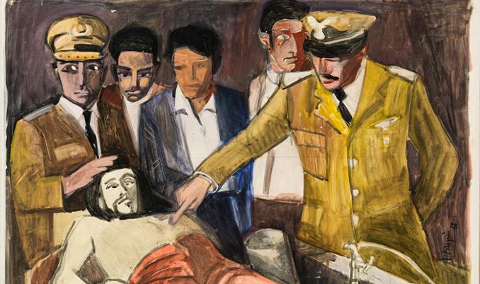 Pintura d'Enric Marquès
