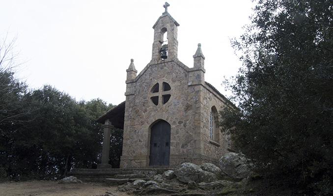 ermita nen jesús Sant Hilari Sacalm capçalera