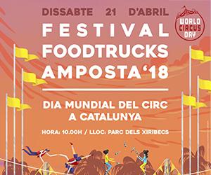 Festival Foodtrucks Amposta '18 - Dia Mundial del Circ a Catalunya