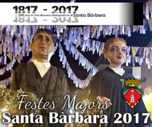 Festes Majors de Santa Bàrbara 2017