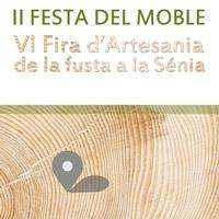 II Festa del Moble i VI Fira d'Artesania de la Fusta - La Sénia
