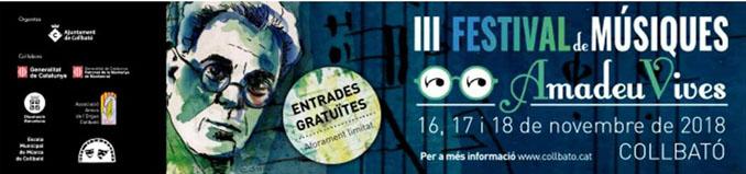 III Festival de Músiques Amadeu Vives