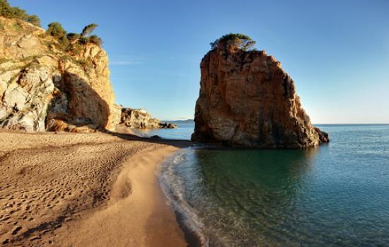 Cala de l'Illa Roja, Begur