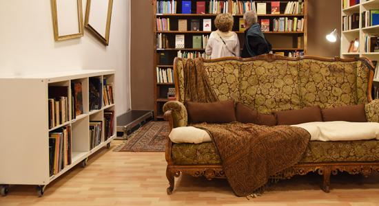 Racó de la nova llibreria