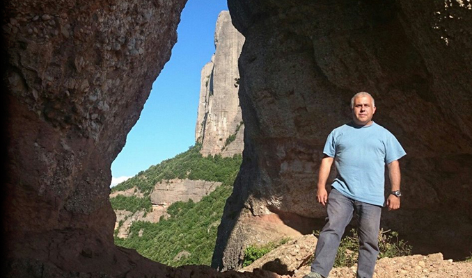 José Angel Arroyos a la Roca Foradada