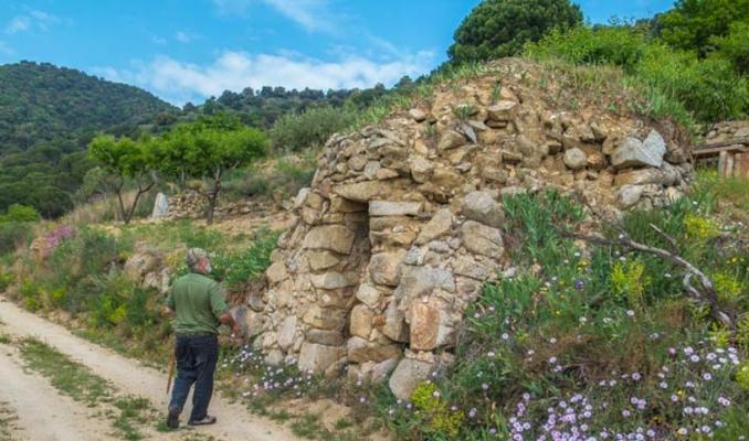 Detall de la ruta 'Les barraques de Vallbona d'Anoia' | Font: Natura Local