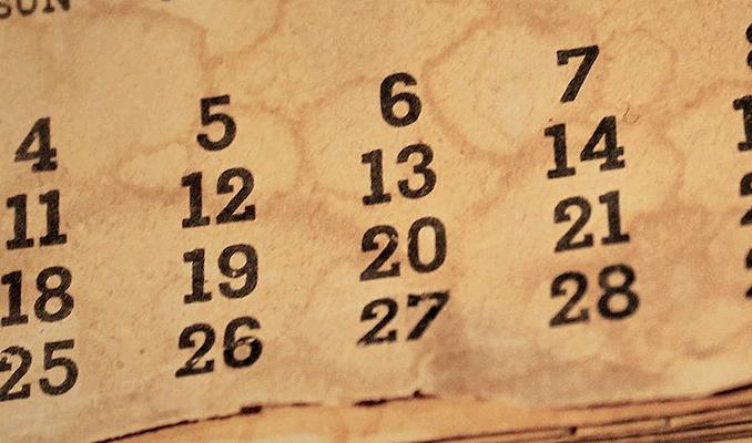 El calendari, tres exemples