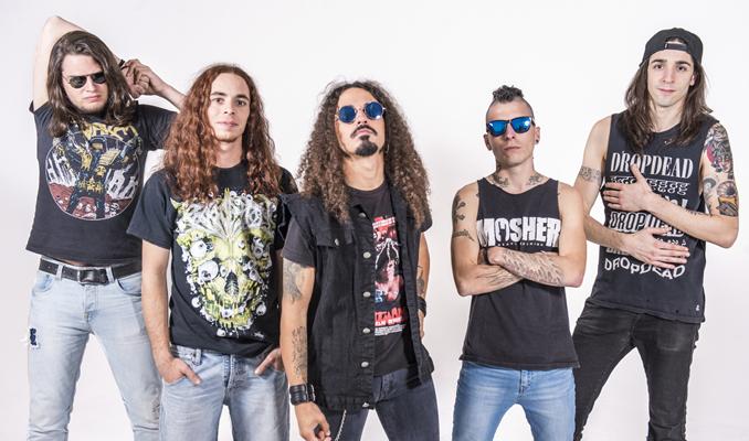 D'esquerra a dreta: Dani Ramis, Albert Requena,Juli Bazooka, Javi Carry, B.B. Plaza