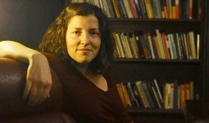 Núria Domènech a l'Alzina de Manresa