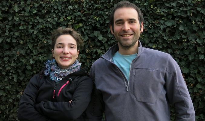 Clara Blasco i Pau Carnicero, tècnics de la XCT