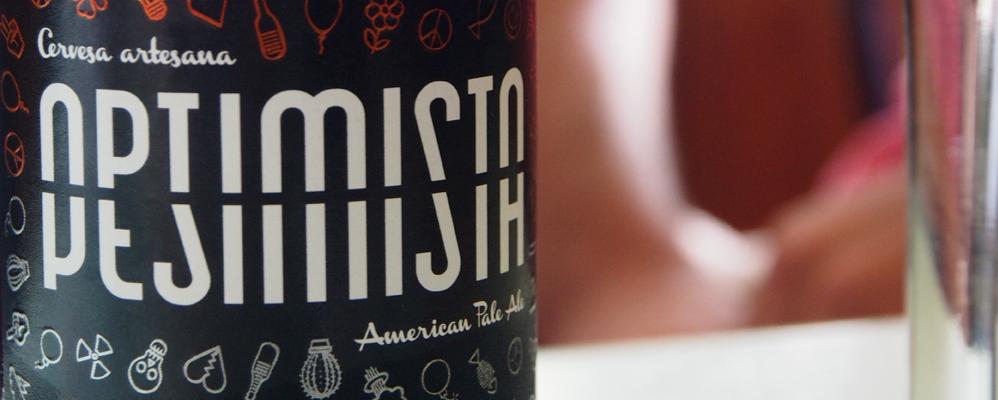'Optimista Pesimista', la primera cervesa de La Lenta