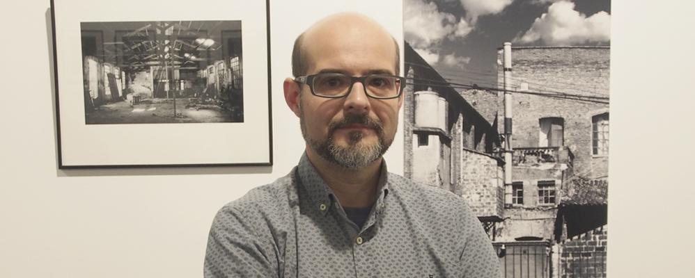 "Frank Gómez exposa ""Passat Industrial"""