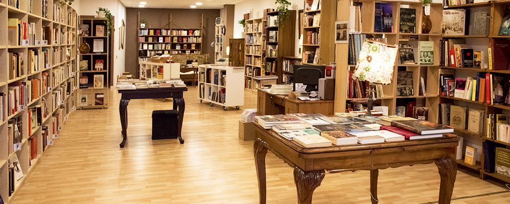 Vista general de la nova llibreria Papasseit