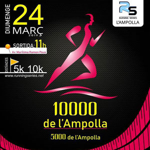 Cursa 10.000 -  L'Ampolla 2019