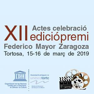 XII Premi Federico Mayor Zaragoza - Tortosa 2019