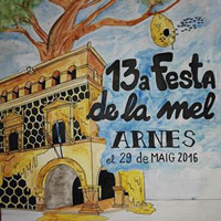 13a Festa de la Mel d'Arnes - 2016