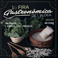 1a Fira Gastronòmica de L'Aldea 2016