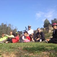 Sortida en bicicleta per Salelles i castanyada