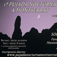 1ª Pujada Nocturna a Montserrat