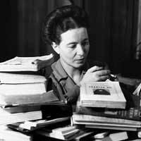 Exposició 'Simone de Beauvoir: feminista i escriptora'