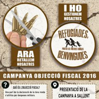 Presentació de campanya 'Objecció fiscal 2016'