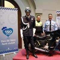 Exposició '150 anys de policia local a Manresa'