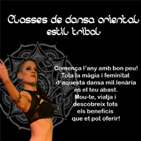 Classes de dansa oriental - Estil tribal
