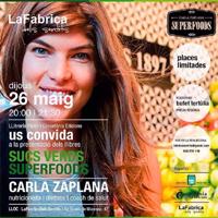Presentació literària de 'Sucs Verds Superfoods', de Carla Zaplana