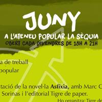 Jny a l'Ateneu La Sèquia