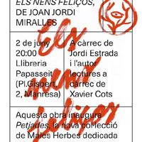 Presentació 'Els nens feliços', de Joan Jordi Miralles