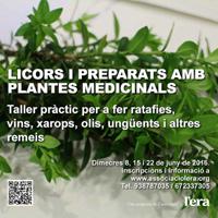 Licors i preparats amb plantes medicibals