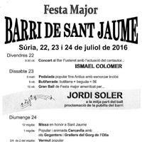 Festa Major del Barri de Sant Jaume