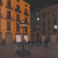 Inauguració de l'exposició 'Paisatge urbà', de Carla Soza