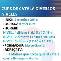 Cursos de Català gratuïts