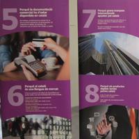 Exposició '8 raons perquè l'empresa parli català'