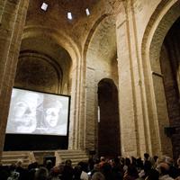 Acte de reconeixement de l'Acadèmia de Cinema Europeu a la Col·legiata Sant Vicenç