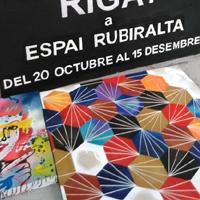 Exposició 'Rigat' a l'espai Rubiralta