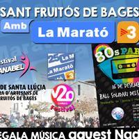 Sant Fruitós de Bages amb la Marató TV3